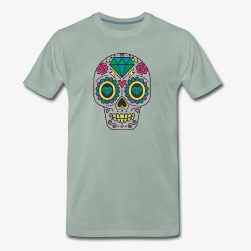 Calavera Mexicana - Camiseta premium hombre