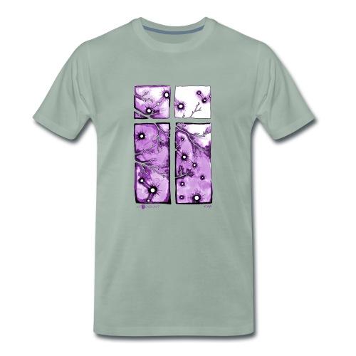 Für immer und ein Tag (violett) - Männer Premium T-Shirt