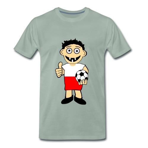 Polnischer Junge - Männer Premium T-Shirt