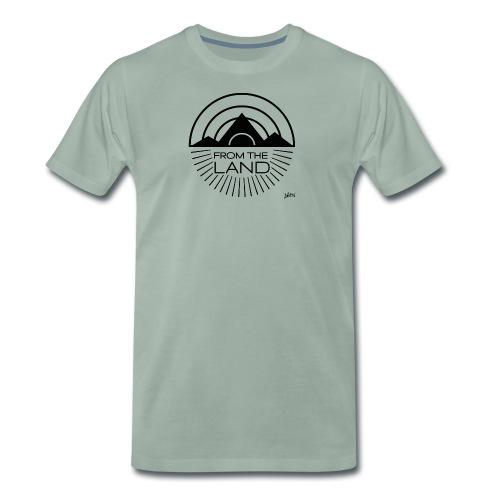 FROM THE LAND LOGO // AWEN - Men's Premium T-Shirt
