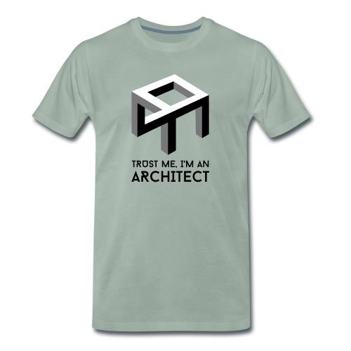 Trust me, I'm an Architect - Miesten premium t-paita