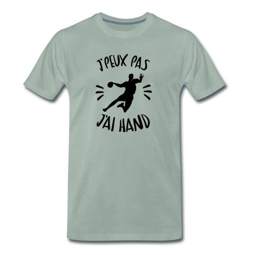 j'peux pas j'ai hand - T-shirt Premium Homme