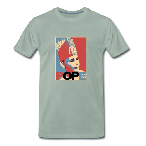 BEOP POPE Original design - Premium T-skjorte for menn