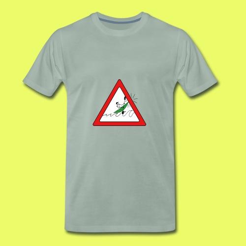 Kajak Unfall im Dreieck - Männer Premium T-Shirt
