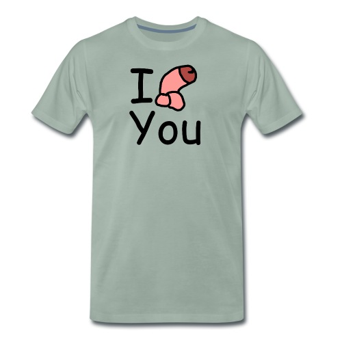 I dong you cup - Men's Premium T-Shirt