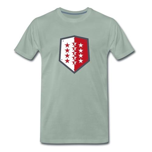 Wallis 1815 Valais - Männer Premium T-Shirt