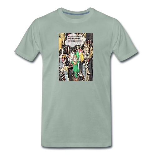 The Greatest Trick The Trad Player Ever Pulled - Men's Premium T-Shirt