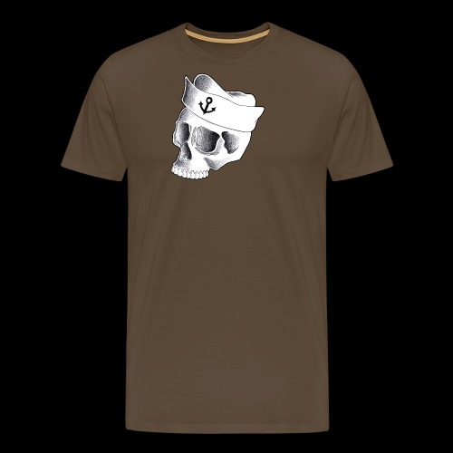 Teschio Marinaio - Maglietta Premium da uomo