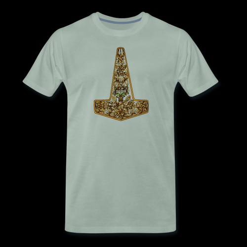 Wolf of Tyr - Gold - Men's Premium T-Shirt