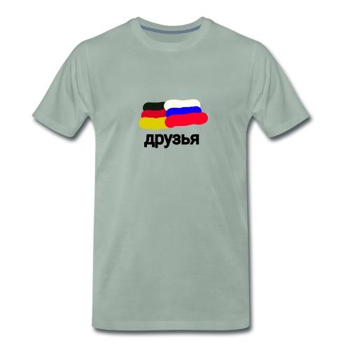 друзья /Deutsch - Russische Freundschaft - Männer Premium T-Shirt