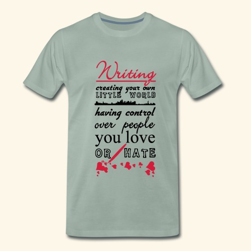 Writing - Men's Premium T-Shirt