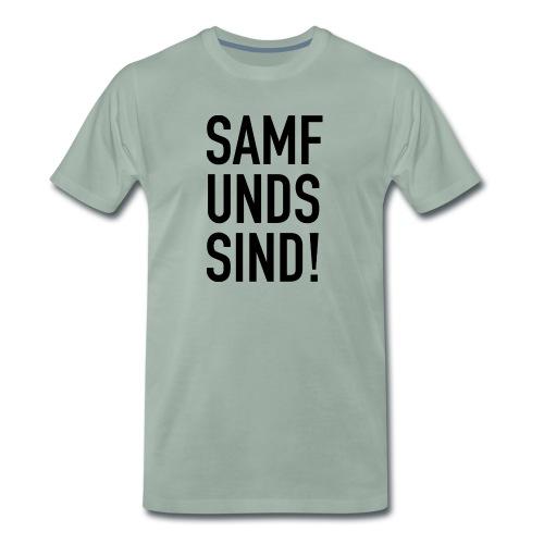 Samfundssind - Herre premium T-shirt