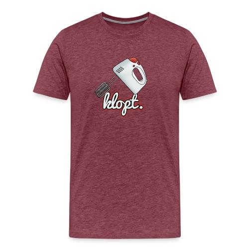 Klopt - Mannen Premium T-shirt