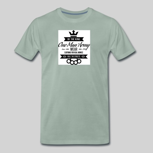Tanktop LOGO KLASYK biały - Koszulka męska Premium