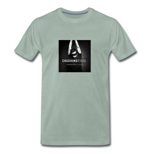 crushingstate01small Kopie jpg - Männer Premium T-Shirt