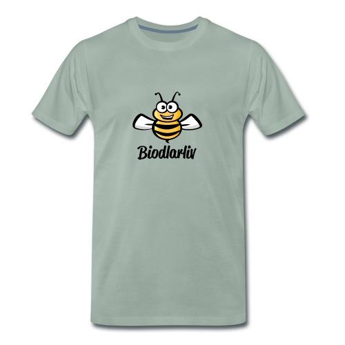 Biodlarliv - Premium-T-shirt herr