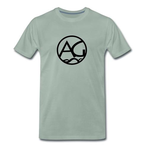 AG - Miesten premium t-paita
