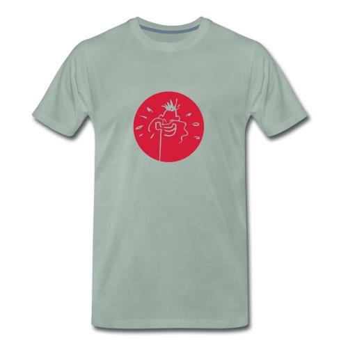 healthhead02rund - Männer Premium T-Shirt