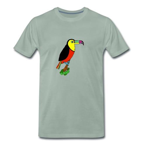 Le toucan - T-shirt Premium Homme