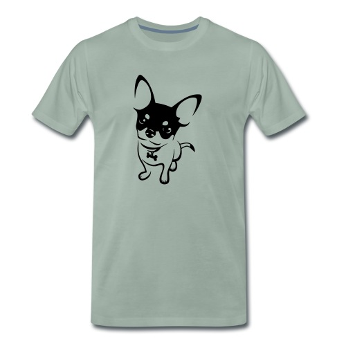 Chihuahua Mok - Mannen Premium T-shirt