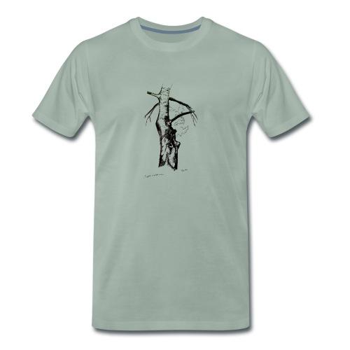 piha koivu - Miesten premium t-paita