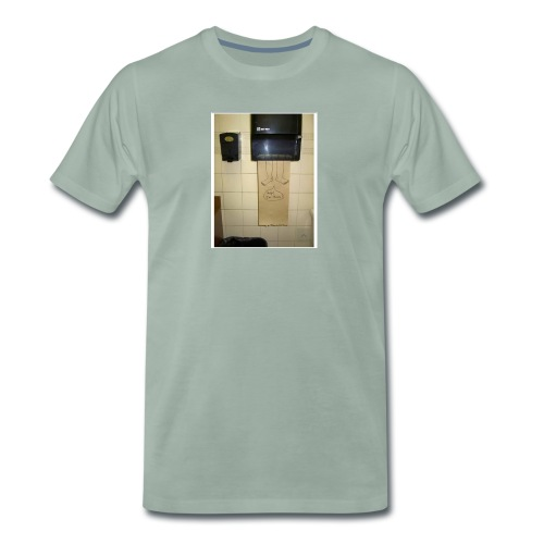 Stuck in the paperholder - Premium-T-shirt herr