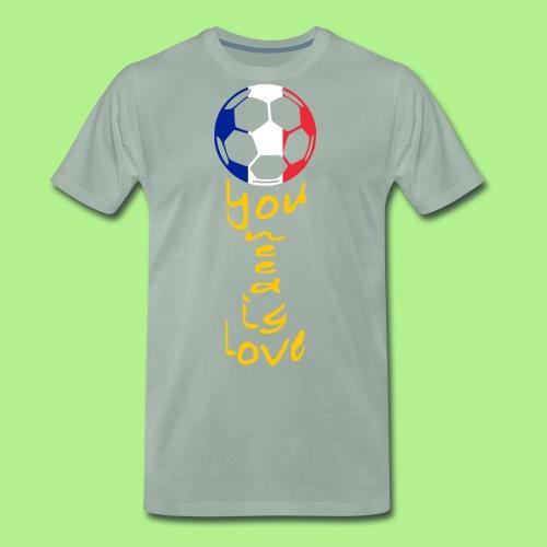 FRANCEtrophyGOLD - NEW! - Men's Premium T-Shirt