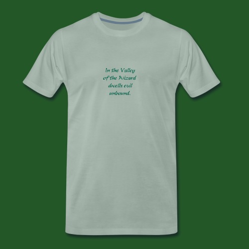 In_Valley_of_the_Wizard-png - Men's Premium T-Shirt