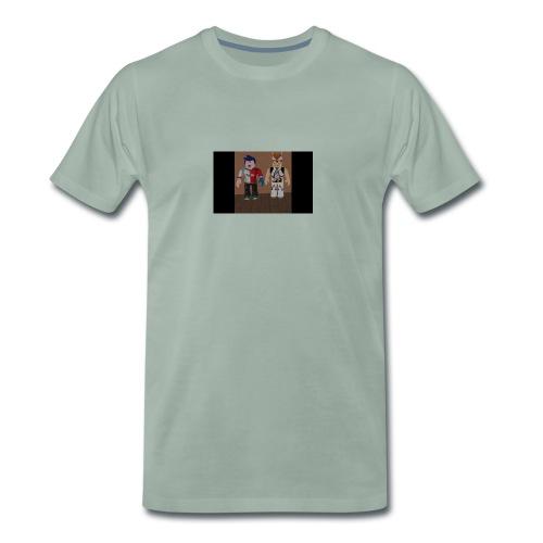 ROBLOX LIFE! - Premium-T-shirt herr