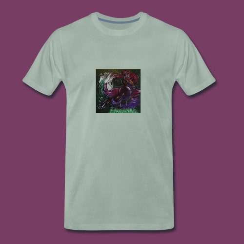 Fantasifugl - Herre premium T-shirt