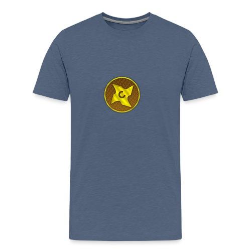 creative cap - Herre premium T-shirt