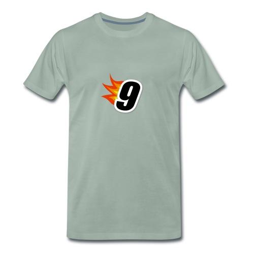 9nnis Logo - Premium-T-shirt herr