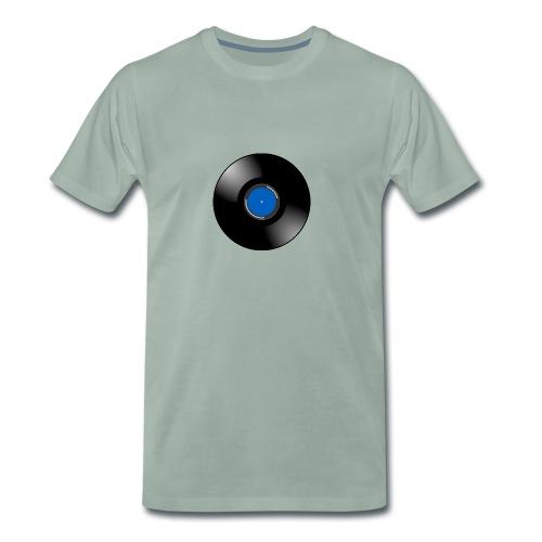 Vinyl - Mannen Premium T-shirt