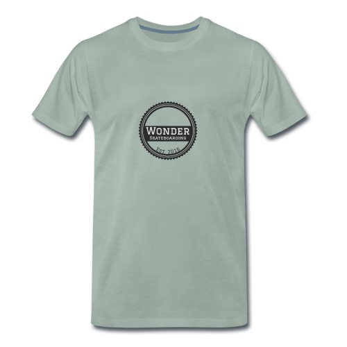 Wonder Longsleeve - round logo - Herre premium T-shirt