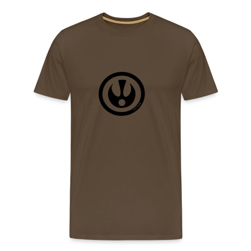 FITTICS DARK BLUE SHIELD - Men's Premium T-Shirt