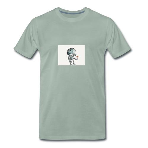 Robot - Mannen Premium T-shirt