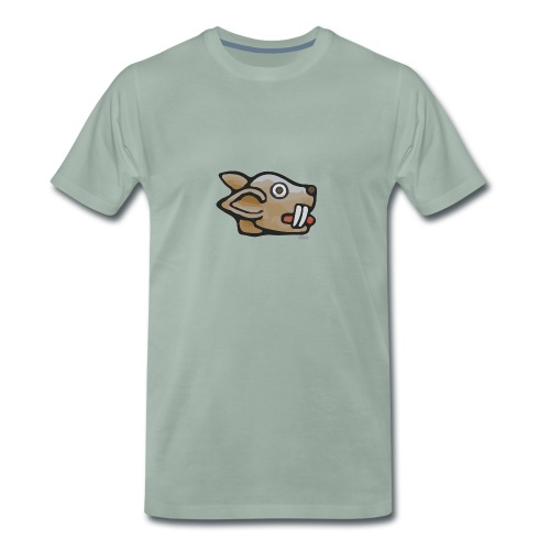 Aztec Rabbit Star - Men's Premium T-Shirt
