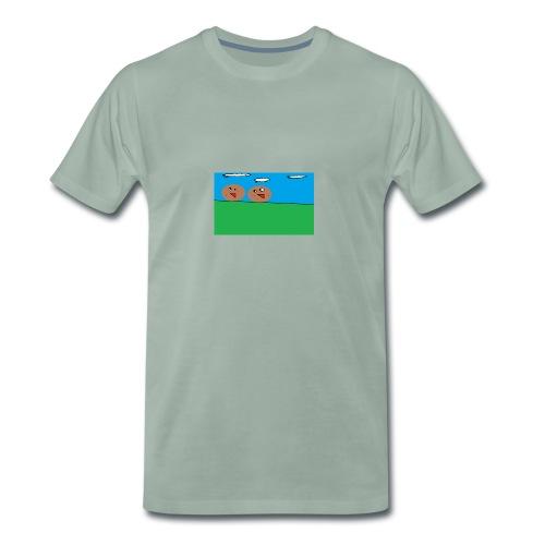 KOPP POTET!! - Premium T-skjorte for menn