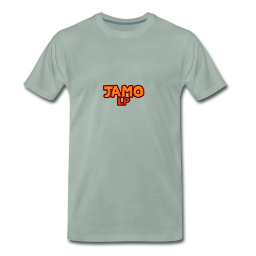 JAMOLP Logo T-shirt - Herre premium T-shirt