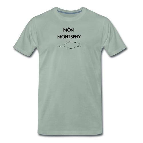logo monmontseny - Camiseta premium hombre