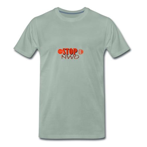 STOPNWO1 - Koszulka męska Premium