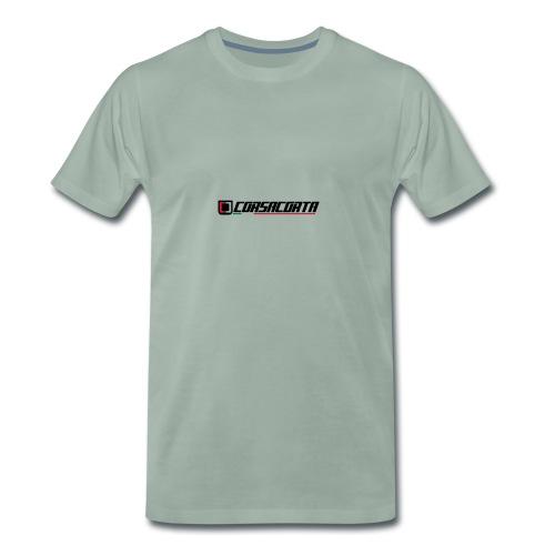 Corsacorta orizzontale - Maglietta Premium da uomo