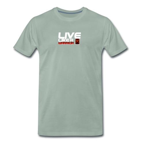 Men - Live like A Warrior Shirt - Mannen Premium T-shirt