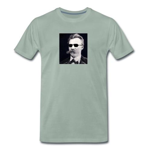 Nietzsche à lunettes - T-shirt Premium Homme