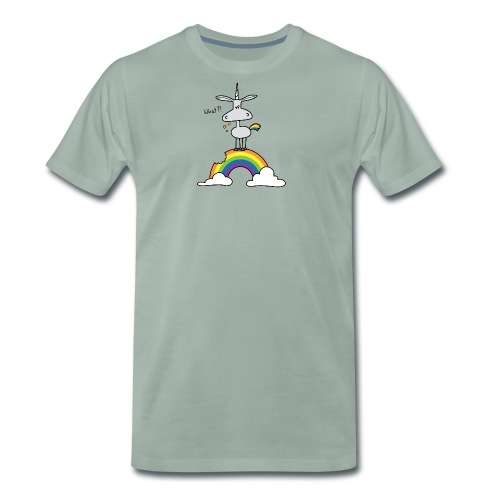 Dru - What?! - Männer Premium T-Shirt