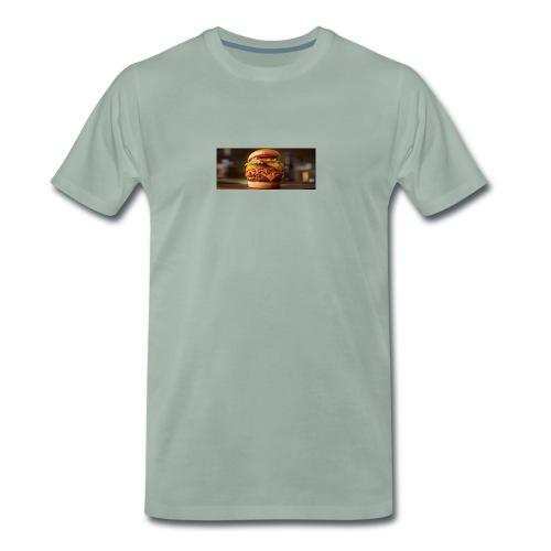 Burger - Herre premium T-shirt