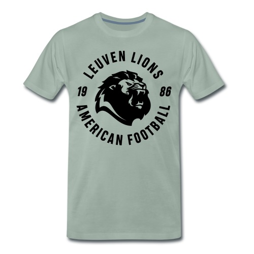 Lions old school black - Men's Premium T-Shirt