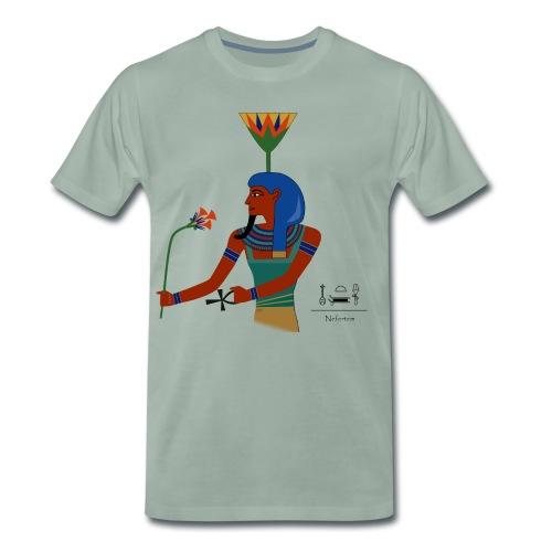 Nefertem I altägyptische Gottheit - Männer Premium T-Shirt