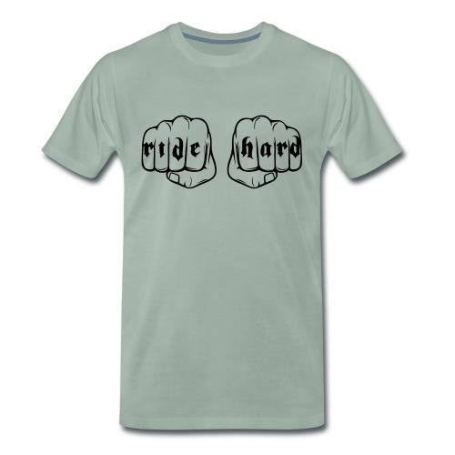 Ride Hard fist - Camiseta premium hombre