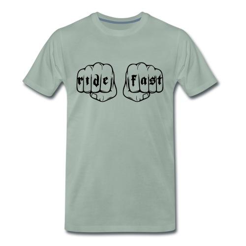 Ride fast puño - Camiseta premium hombre